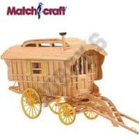 Hobby's Matchcraft - Ledge Caravan Matchstick Kit # 11497